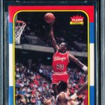 Michael Jordan BGS 9.5 rookie