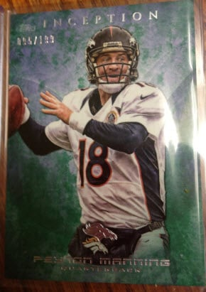 Topps Inception Green Manning