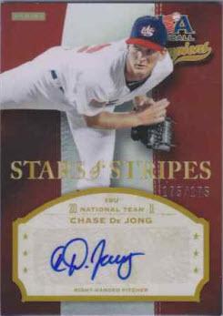 Chase DeJone auto Stars n Stripes