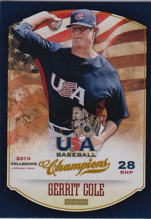 Panini USA Champions Gerrit Cole
