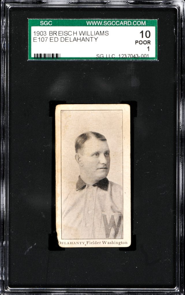 Ed Delahanty 1903 Breisch-Williams
