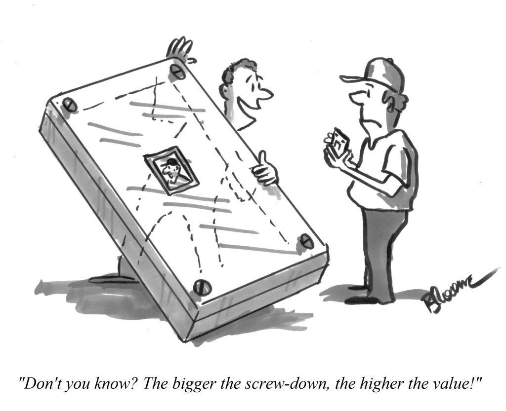 Broome grading cartoon