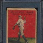 Del Pratt 1914 Cracker Jack card