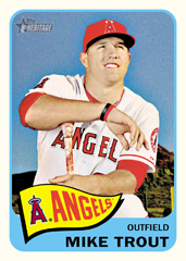 Mike Trout 2014 Topps Heritage