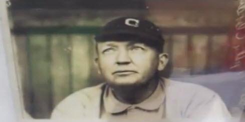 Baseball Photograph Cy Young