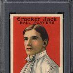 Cracker Jack Christy Mathewson PSA 8 1915