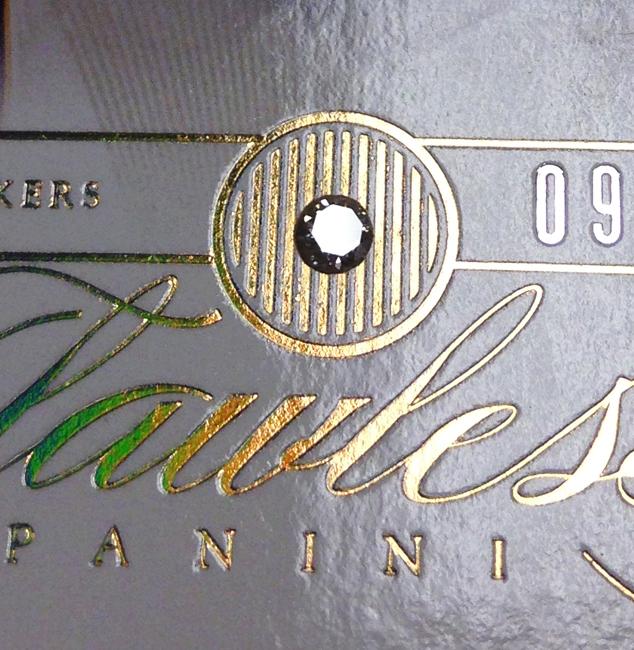 Flawless Panini 2012-13 diamond