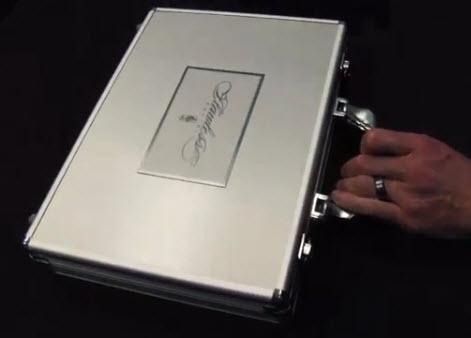 2012-13 Panini Flawless metal briefcase