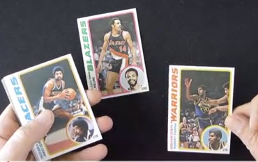 Topps 1978-79 Basketball cards