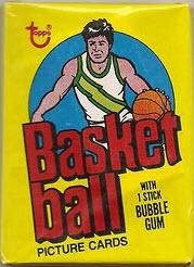 Topps 1978-79 Basketball Unopened Pack