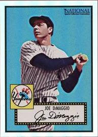 Joe DiMaggio 1952