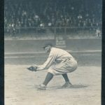 1920 Ray Chapman in action photo