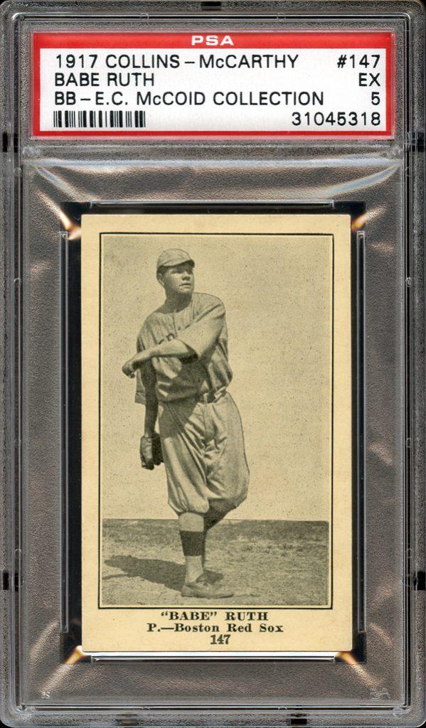 Babe Ruth Collins-McCarthy blank back