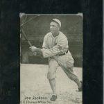 Joe Jackson Felix Mendelsohn card