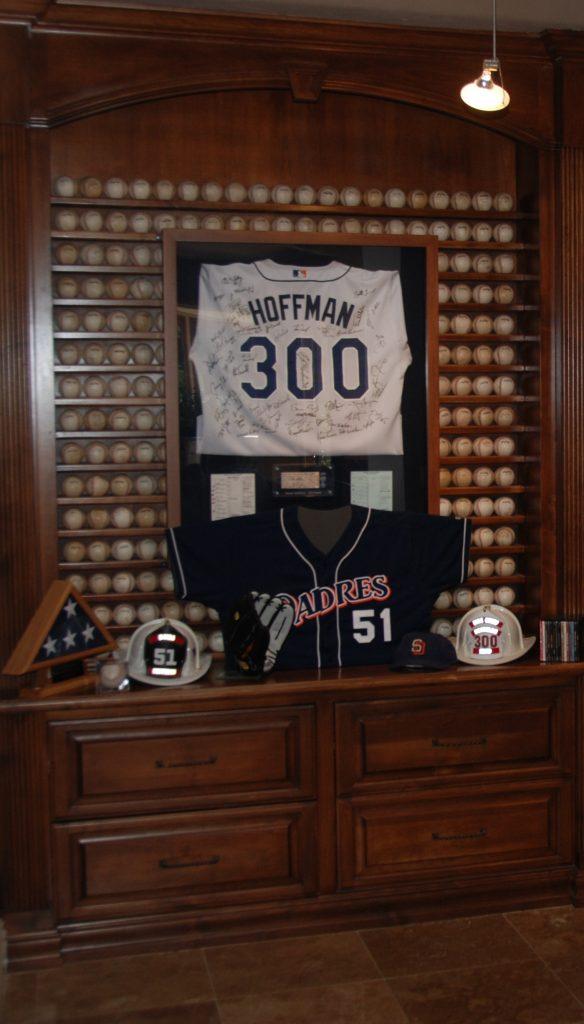 300 saves baseballs Trevor Hoffman
