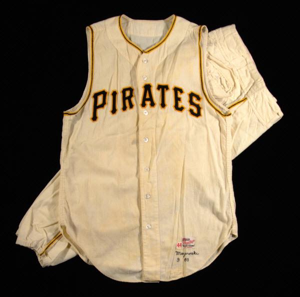 Bill Mazeroski 1960 World Series uniform