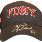 NYFD cap Zach Wheeler 9/11/13