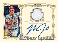 Topps Gypsy Queen 2014