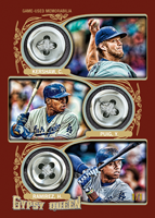 Triple Button Relic 2014 Topps Gypsy Queen