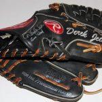 Game used Derek Jeter glove