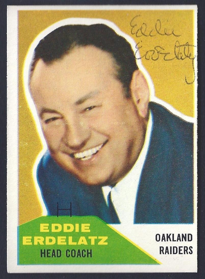 Eddie Erdelatz autograph