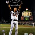 Autographed 2131 photo Cal Ripken Jr.