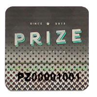 Prize Authentics Hologram