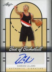 Damian Lillard Leaf Best of Basketball