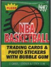 1987-88 Fleer Basketball Pack