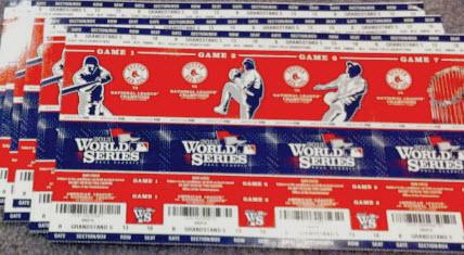 World Series tickets 2013