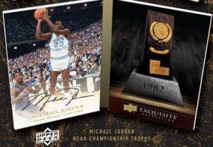 Exquisite Michael Jordan autograph UNC Championship trophy