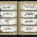 2012-13 Exquisite 16 booklet autograph