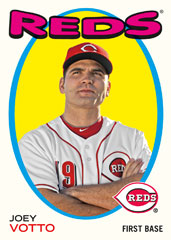 2014 Topps Archives Joey Votto