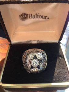 Lance Alworth Super Bowl ring