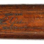 Game used Lou Gehrig bat