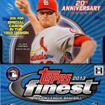 2013 Finest baseball box