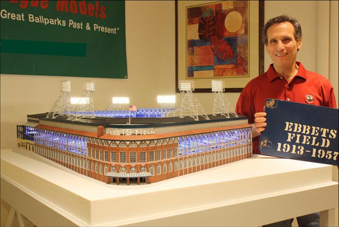 Steve Wolf Ebbets Field model