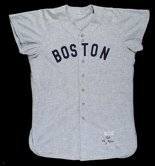 1955 Ted Williams road jersey Red Sox