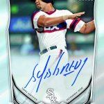 Jose Abreu autograph card 2014 Bowman baseball