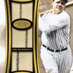 Babe Ruth relic 2014 Topps Tier One
