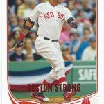 David Ortiz Topps Update Boston Strong