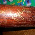 Autographed George Brett bat