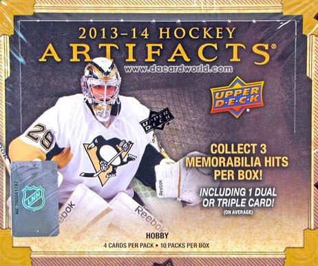 2013-14 Artifacts Hockey box