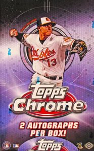 2013 Topps Chrome Box