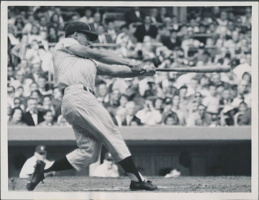 Roger Maris 61st home run photograph