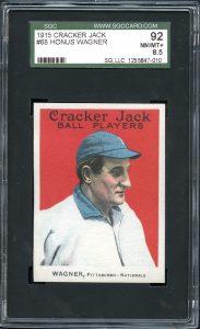 Honus Wagner 1915 Cracker Jack