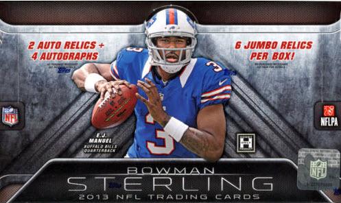 Bowman Sterling Football box 2013