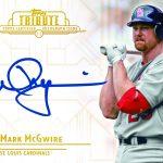 2014 Topps Tribute Mark McGwire autograph