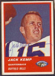 Jack Kemp 1963 Fleer