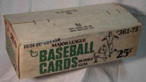 Topps 1975 Baseball Cello Case